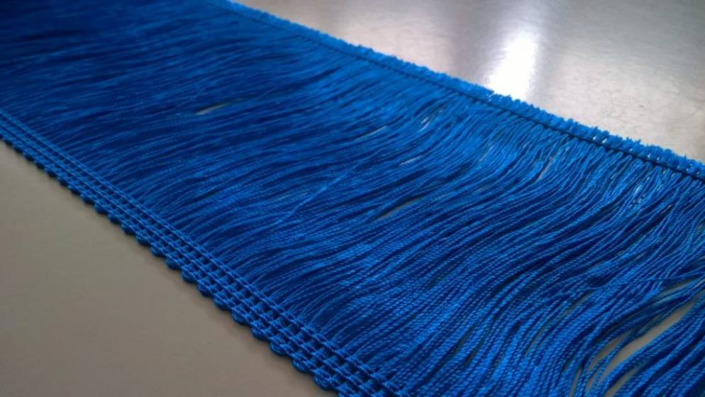 Frangia  da passamaneria - blu