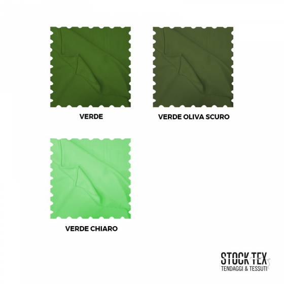 Tessuto pile morbido per abbigliamento - verde