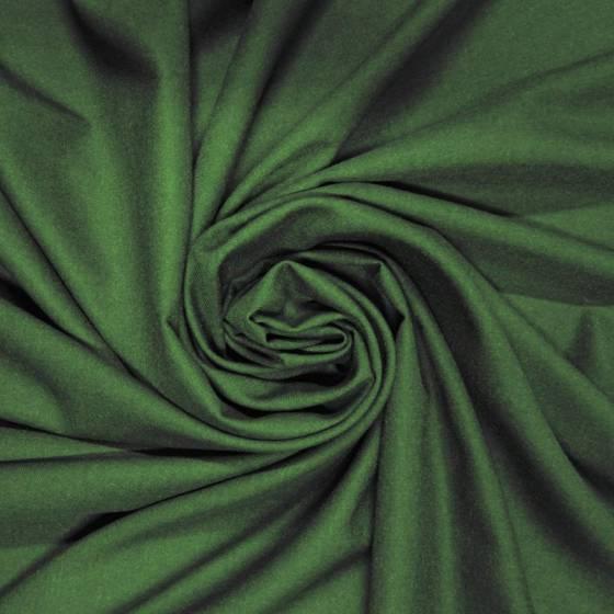Tessuto per abiti lana vigogna - nero/verde
