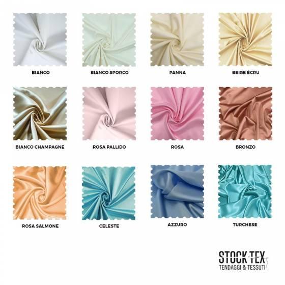 Tessuto abiti per spettacoli in raso superior - varianti colori
