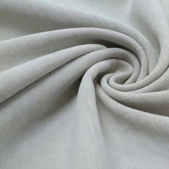 Tessuto per tendaggi in ciniglia ignifuga - varianti colori