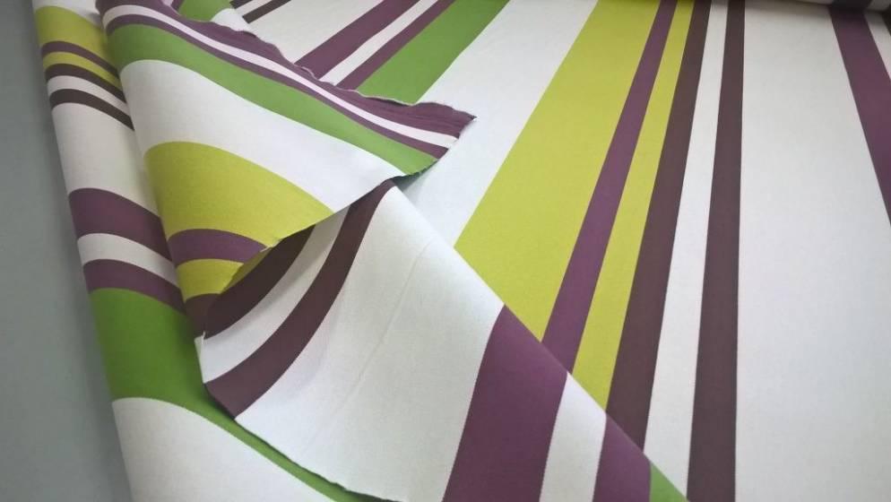 Tessuto per arredo e coperture da esterno resistente a righe - multicolor2