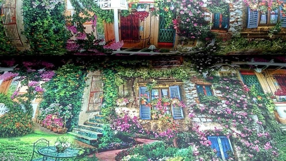 Tessuto per arredo fantasia magic garden