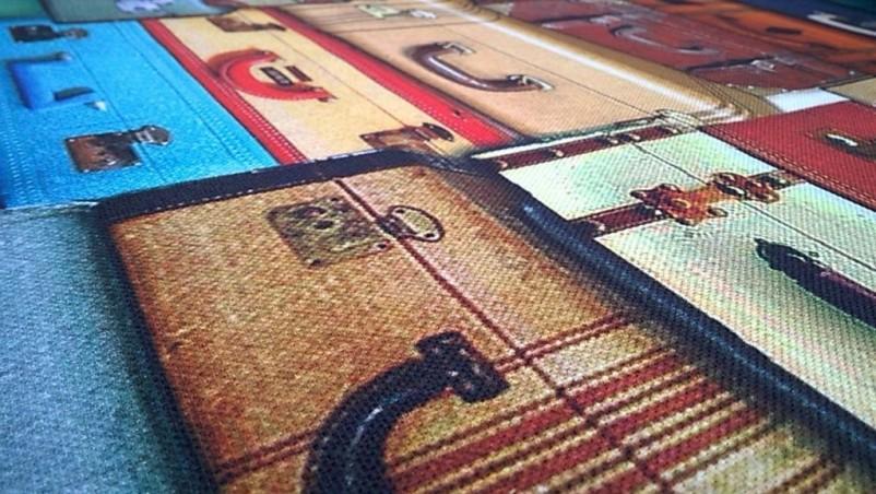 Tessuto per arredo fantasia Bon Voyage- multicolor
