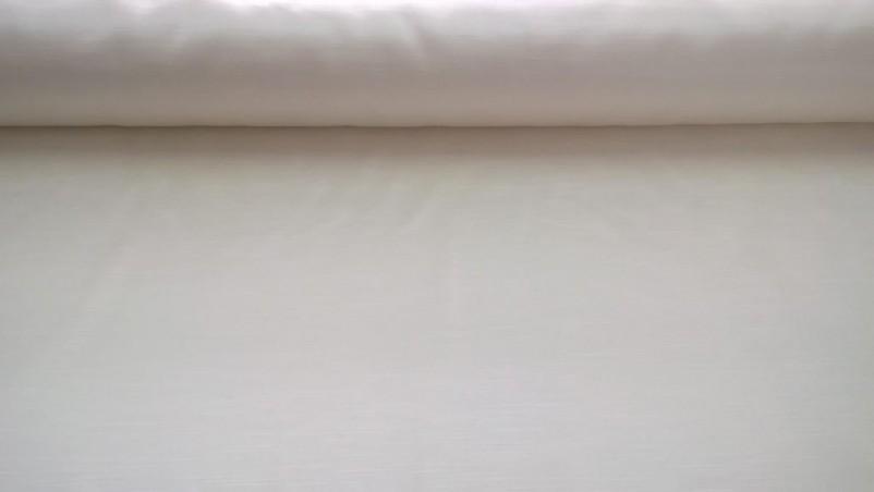 Tessuto di raso per arredo con trama rigata - colore panna