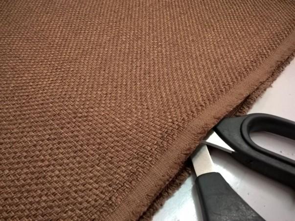 Tessuto per arredo e rivestimento elegante - marrone2