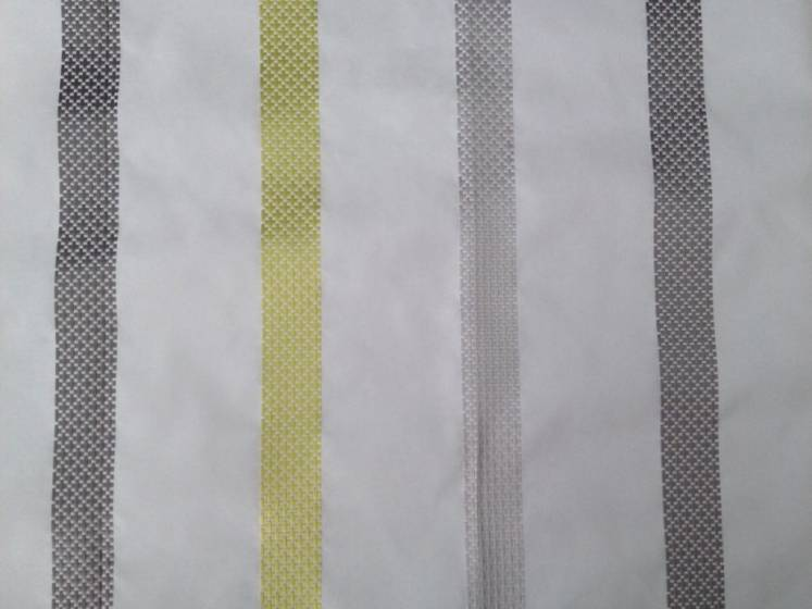 Tessuto per arredo e tendaggi motivo a fasce ricamate - varianti colori2