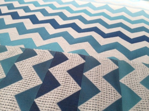 Tessuto arredamento  e tendaggio fantasia zig-zag sfumato - varianti colori_
