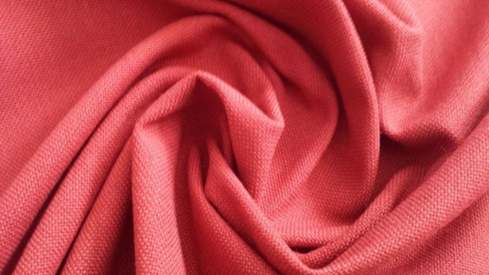 Tessuto per arredo e rivestimento resistente - rosso