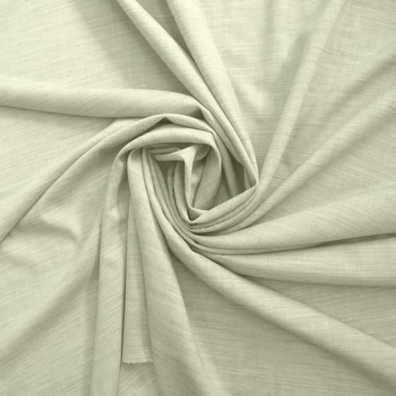 Tessuto in fresco cotone melange - grigio chiaro