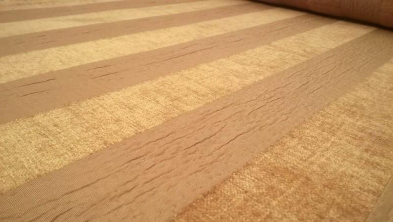 Tessuto per rivestimento e tappezzeria in misto cotone effetto cinigliato - giallo2
