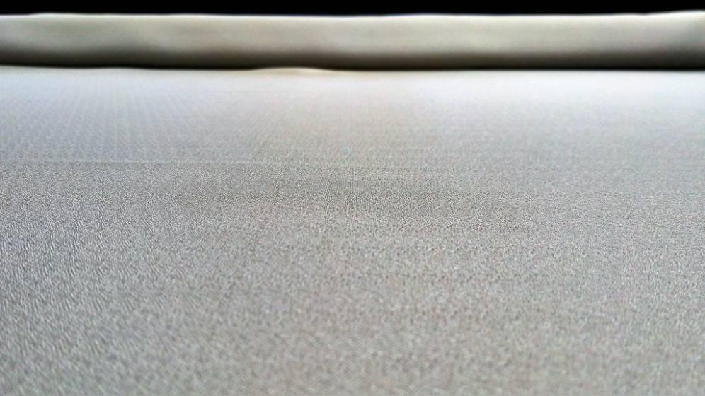 Tessuto per tende effetto traslucido - argento2