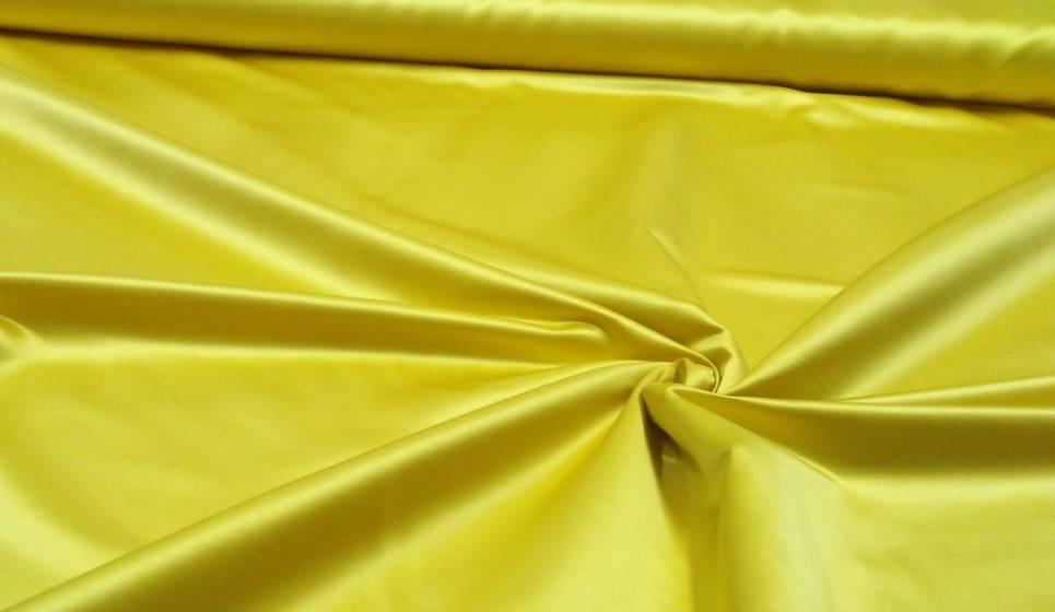 Tessuto per arredamento in raso luminoso - oro 2