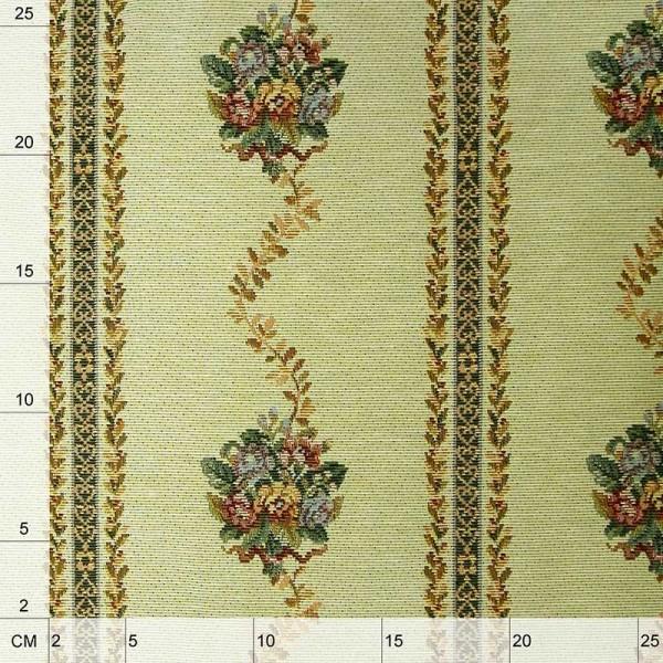 Tessuto in stile rustico per arredamento tovagliato e rivestimenti - avorio 2