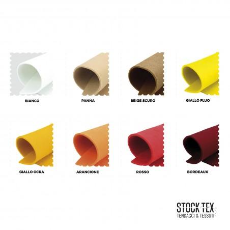 Tessuto in feltro utilizzo creativo - varianti colori