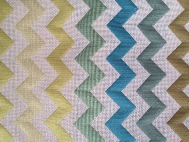 Tessuto arredamento  e tendaggio fantasia zig-zag sfumato - varianti colori.