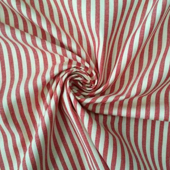 Tessuto cotone a righe per arredamento - varianti colori