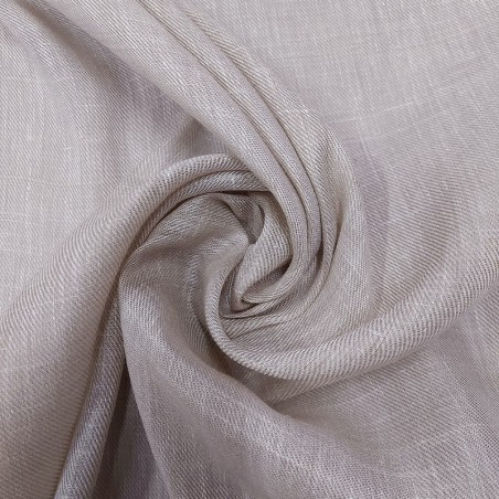 Tessuto tendaggio misto lino - tortora