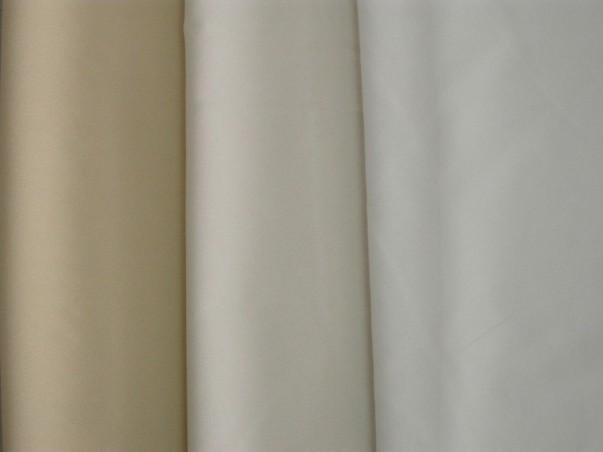 Tessuto tendaggio in crepe effetto seta - avorio/bianco/beige.