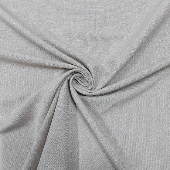 Tessuto per tendaggi panama ignifugo effetto naturale