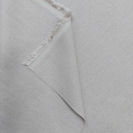 Tessuto per tendaggi panama ignifugo effetto naturale2