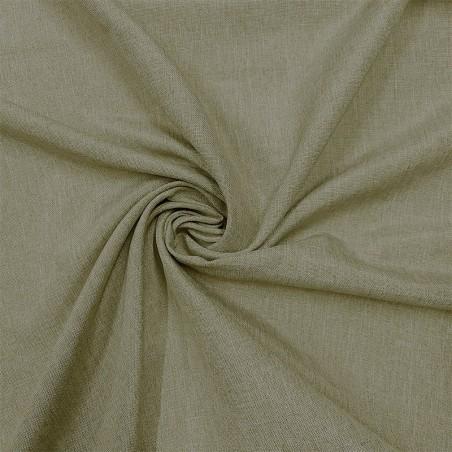 Tessuto per tendaggi oscurante ignifugo effetto lino