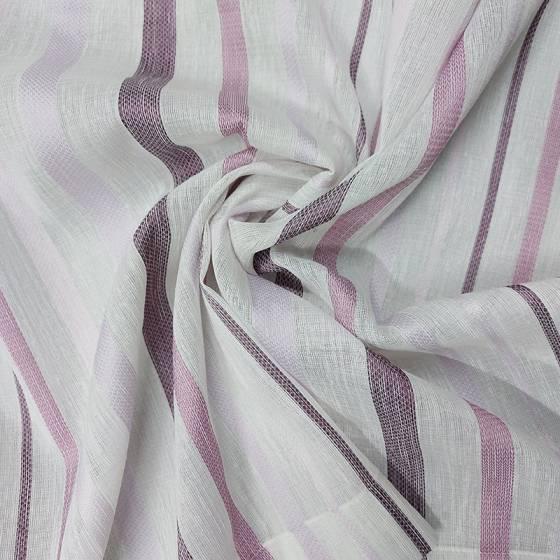 Tendino a righe con sfumature di viola e rosa