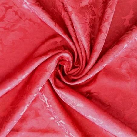 Tessuto arredamento e rivestimento damascato effetto brillante