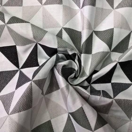 Tessuto per arredo stile nordico motivo geometrico - varianti colori fantasia