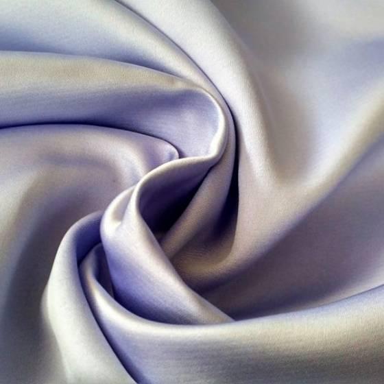 Tessuto per abiti raso elegante - giallo/glicine