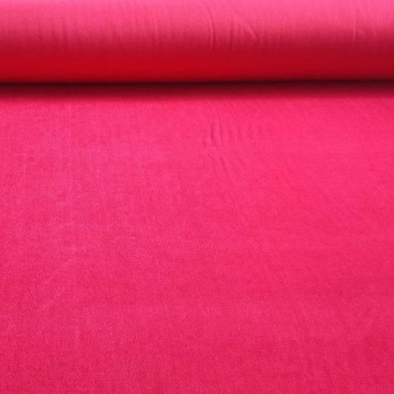Tessuto per abiti effetto cinigliato cangiante - fucsia
