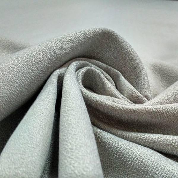 Tessuto per arredo con trama elegante - argento