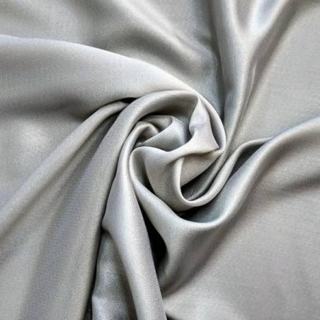 Tessuto per tende effetto traslucido - argento