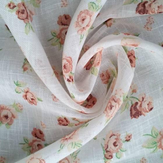 Tendaggio romantico motivo floreale - varianti colori
