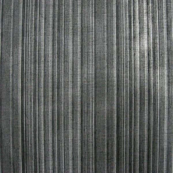 Tessuto velo per tendaggi motivo a righe brillanti- nero