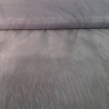 Tessuto tendaggio ad effetto retina - grigio