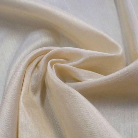 Tessuto tendaggio luminoso effetto fiammato - bianco/crema/rosa