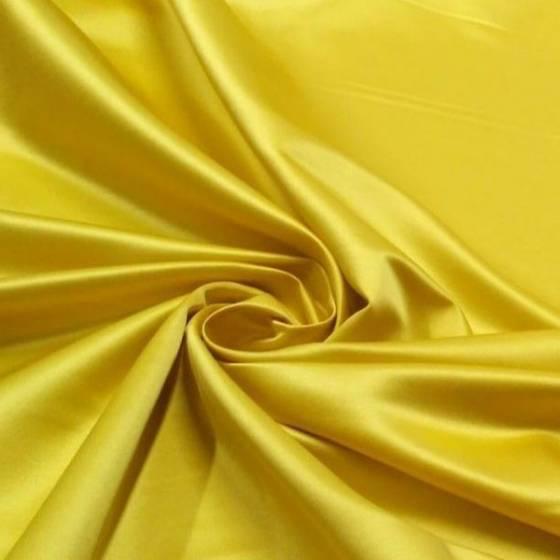 Tessuto per arredamento in raso luminoso - oro