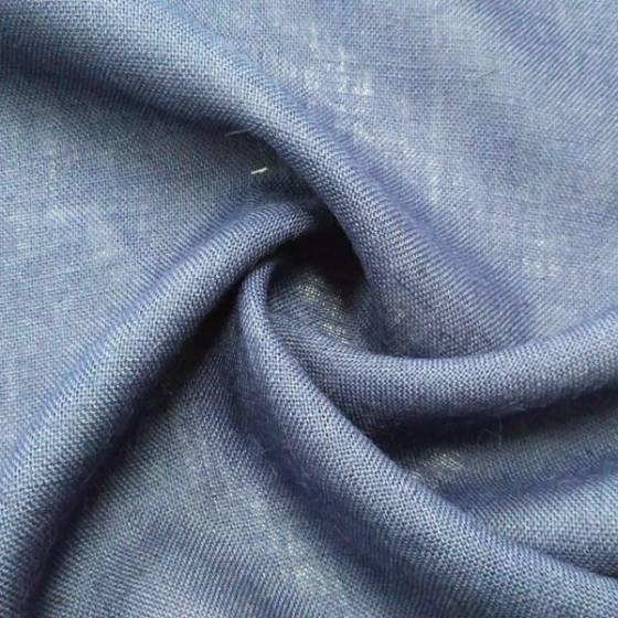 Tessuto arredo in juta - blu navy