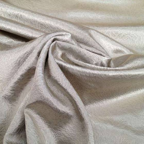 Tessuto ignifugo semi oscurante con riflessi argentati - grigio