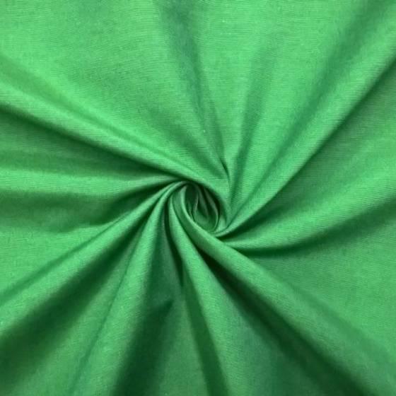 Tessuto per arredo in cotone panama - verde