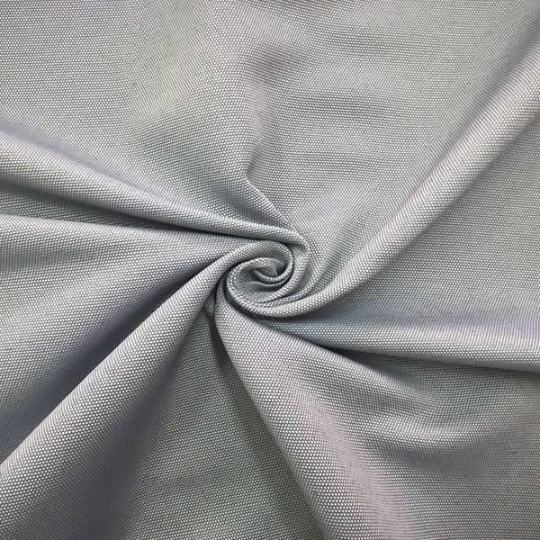 Tessuto per arredo e tendaggio a trama visibile - grigio