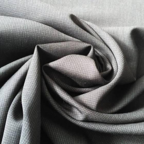 Fresco lana per abbigliamento - nero