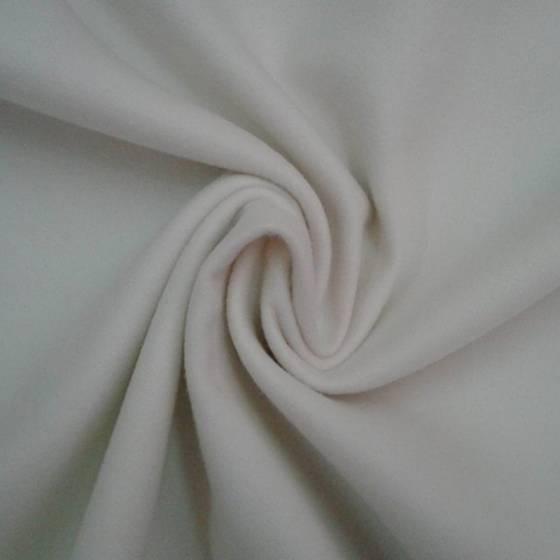 Tessuto per cappotti morbidi - panna