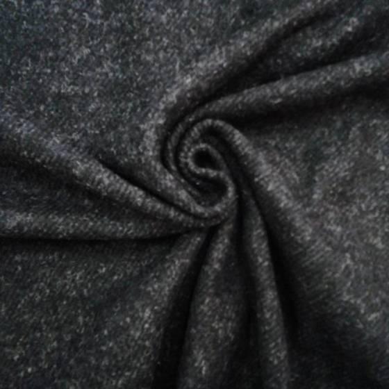 Tessuto abiti in lana morbida - grigio
