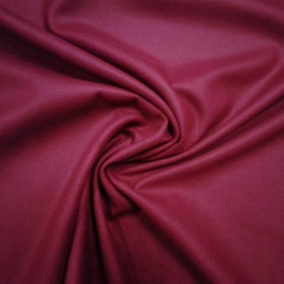 Tessuto per abiti in lana - rosso bordeaux