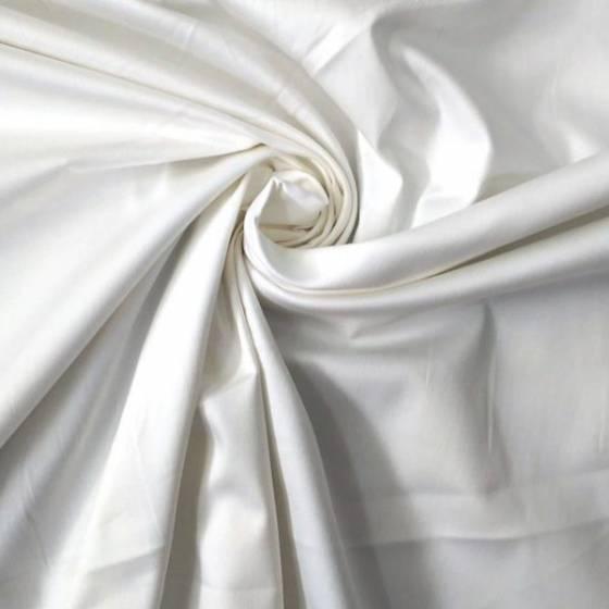 Tessuto per abiti in cotone - bianco naturale