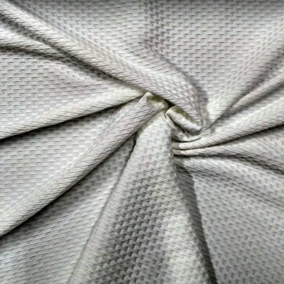 Tessuto abiti maglina elasticizzata - bianco/blu/viola