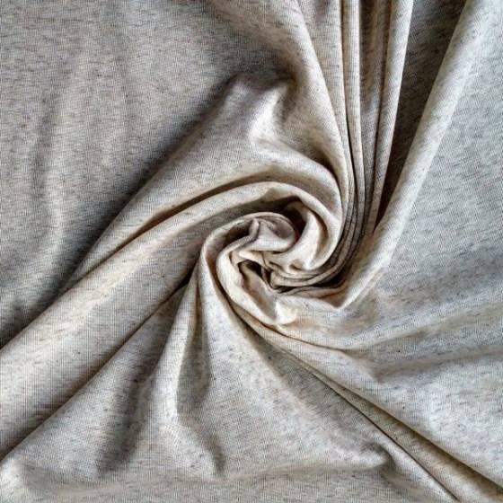 Tessuto maglina in misto cotone elasticizzata