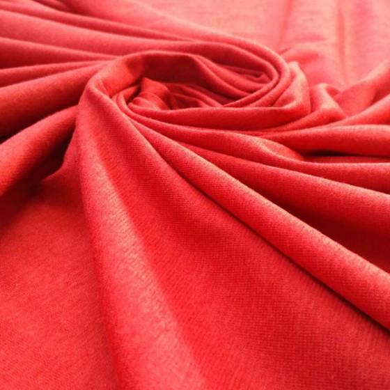 Tessuto in maglina leggera - rosso
